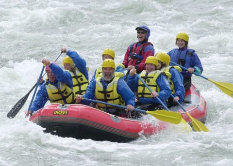 White Water Rafting in Alberta