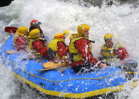 Kananaskis Water Rafting