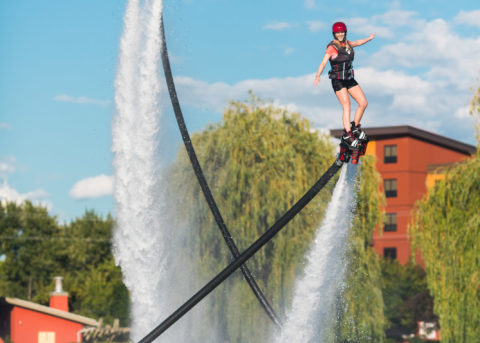 Okanagan Flyboard Couples