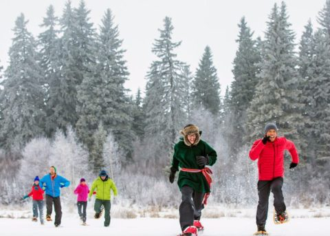 Snowshoe Edmonton Rentals in River Valley